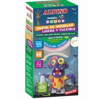 "ALPINO Set magic dough walking zonmbie \""WALKER\"""