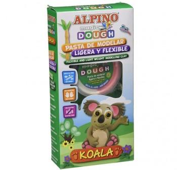 "ALPINO Set magic dough collection \""KOALA\"""
