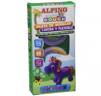 "ALPINO Set magic dough collection \""UNICORN\"""