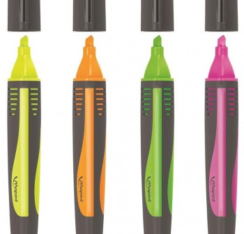 "MAPED Marcador fluorescente ""fluo peps max sorty\"" 4 colores"