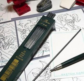 Tubo 10 minas dibujo 9071 trazo 2mm hb