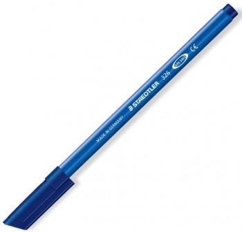 Caja 10 Rotuladores Staedtler noris club Tinta antisecado trazo 1,0mm azul oscuro