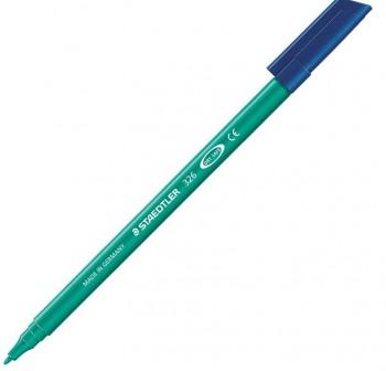 Caja 10 Rotuladores Staedtler noris club Tinta antisecado trazo 1,0 mm verde oscuro