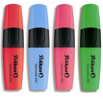 Rotulador fluorescente textmarker trazo 5mm rojo