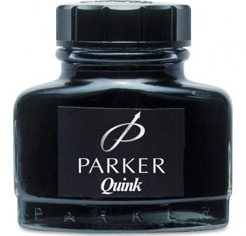 Botella Tinta Parker super quik permanente 57ml negro
