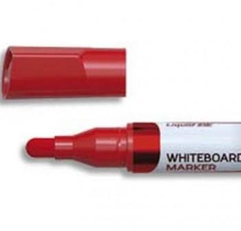 Marcador pizarra Velleda Ink Pocket tinta liquida trazo medio rojo