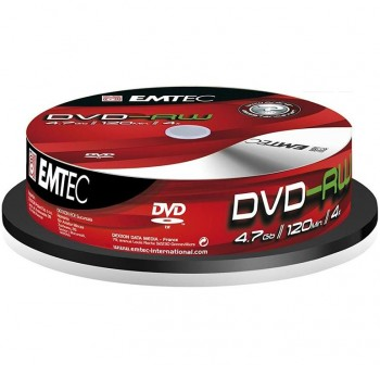 VERBATIM DVD-RW 4X 4,7GB (tarrina de 5)