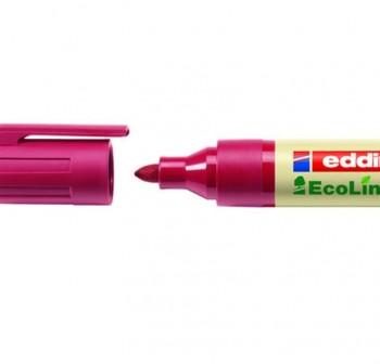 Marcador Pizarra ecológico punta cónica ecoline edding 28 trazo 3Mm rojo