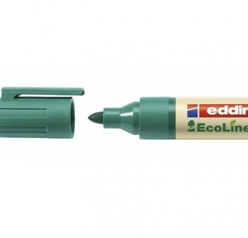 Marcador permanente ecológico ecoline edding 21 punta cónica trazo 3Mm verde
