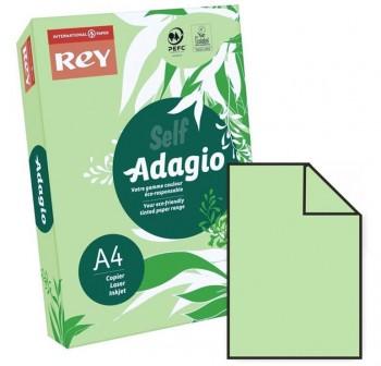 ADAGIO Paquete 500h papel color paper 80gr DINA4 verde intenso