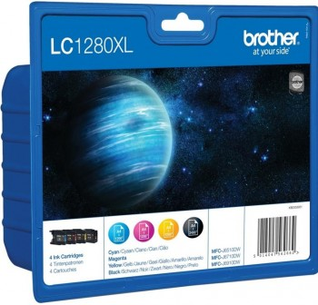 BROTHER Cartucho Inkjet LC-1280XLVALBP rainbow