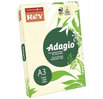 ADDAGIO OFFICE Paquete de cartulina A4 MARFIL 160gr. 250hojas