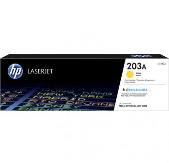 HP Toner laser CF542A original (1,3k) AMARILLO Nº203A