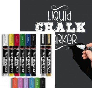 ALPINO Rotulador PAINT MARKERS BLANCO