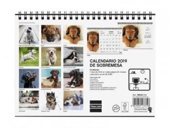 FINOCAM Calendario sobremesa CACHORROS 2019