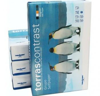 TORRASCONTRAST Papel Din A4 80gr.Pack 500 hojas blanco