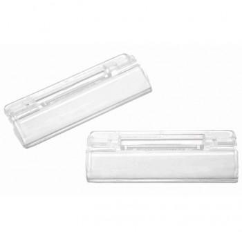 GRAFOPLAS Pack 50 visores cortos 6,5cm