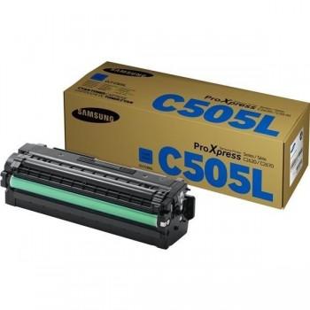 SAMSUNG Toner laser CLT-C505L CYAN original 3,5k (SL-C2620DW C2670FW C2680FX)