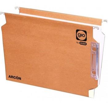 GIO Carpeta colgante visor lateral kraft armarios (varillas)