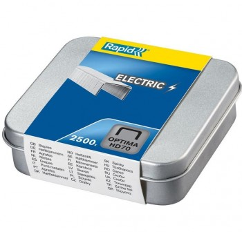 RAPID Grapas Optima HD70 caja de 2500 galvanizada