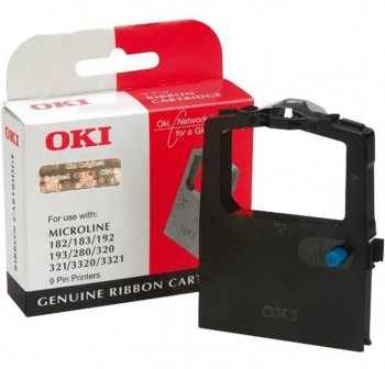 Cinta Impresora Oki 9002303 negro