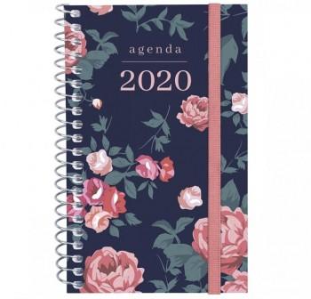 MULTIFIN Agenda espiral DESIGN COL. d/p E10 cuarto ELEGANT 2020