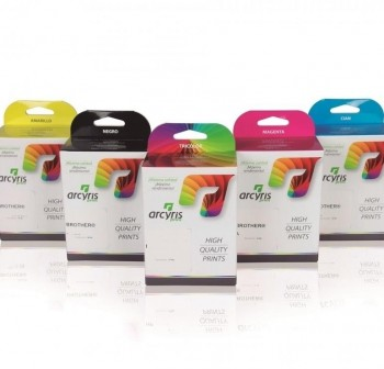 F7I Cartucho inkjet ARCLC1100M MAGENTA (no original) 14 ML