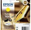 EPSON Cartucho inkjet T1634 original amarillo