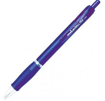 MOLIN Bolígrafo tinta de aceite retráctil azul 1mm.(12)