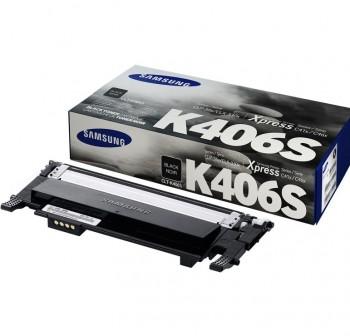 SAMSUNG Toner laser CLT-K406S NEGRO original 1k