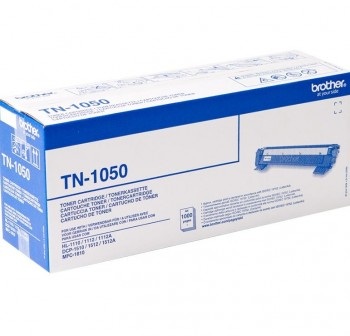 BROTHER Toner laser TN-1050 negro original (1k)