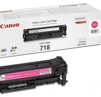 CANON Toner laser 718M MAGENTA (2,9K)