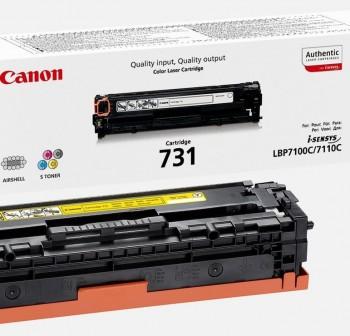 CANON Toner laser 731BK original NEGRO