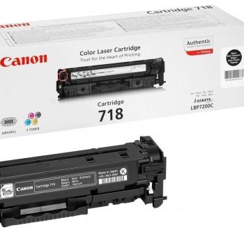 CANON Toner laser 718BK NEGRO (3,4K)