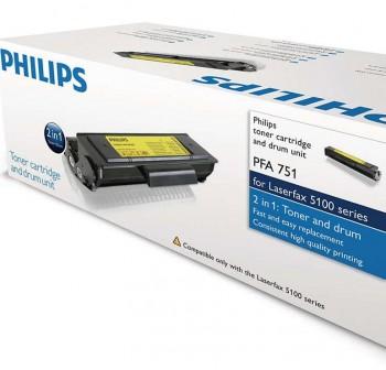 Tóner láser Philips PFA751 negro