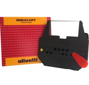 Cinta de impresión Olivetti 82025 negra