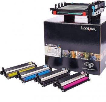 Kit de imagen Lexmark C540X74G negro y color