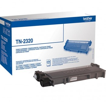 BROTHER Toner laser TN-2320 original (2,6k)