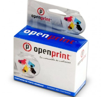 OPENPRINT Cartucho ALT. BROTHER (P)LC123BK (16cop.) BLACK MFC J470DW