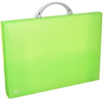 Maletín congreso pp colorgraf 34,5x24,5x4cm verde claro