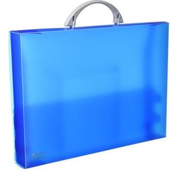 Maletín congreso pp colorgraf 34,5x24,5x4cm azul