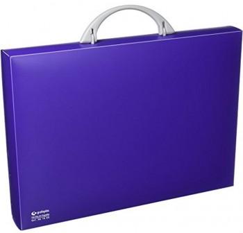 Maletín congreso pp colorgraf 34,5x24,5x4cm violeta
