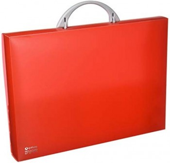 Maletín congreso pp colorgraf 34,5x24,5x4cm rojo