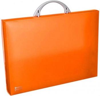 Maletín congreso pp colorgraf 34,5x24,5x4cm naranja