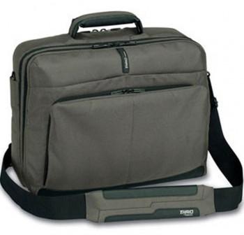 Maletín portátil extensible 15 comfort 42x32x15,2/19,2cm negro