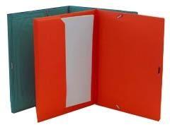 IBERPLAS Carpeta elastico con solapa fluor folio