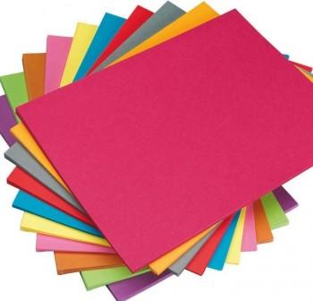 GEMO Dossier cartulina en colores con solapas interior para grapar en colores