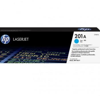 HP Toner laser color CF401A original (1,4K) CYAN nº201A