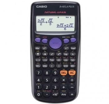 CASIO Calculadora cientifica fx-82la plus (pilas AA