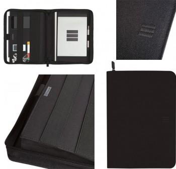 Portadocumentos cremallera A4 j954 negro
